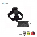 Proocam Pro-J023 Elastic Adjustable Head Strap with anti-slide Glue with Storage Bag for Gopro Hero , Sjcam , Mi Yi etc